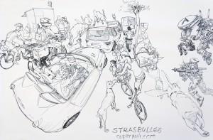 Kim Jung GI - Strasbulles