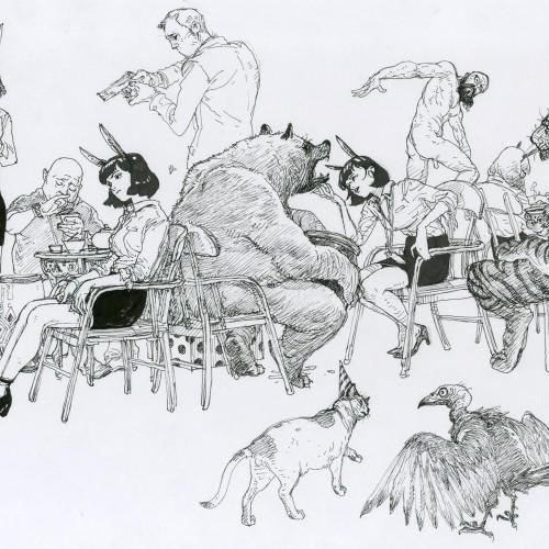 Cat & Vulture