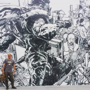 RiotGames mural