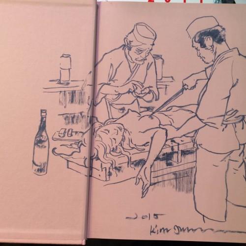 004 - Kim Jung Gi sketch dédicace