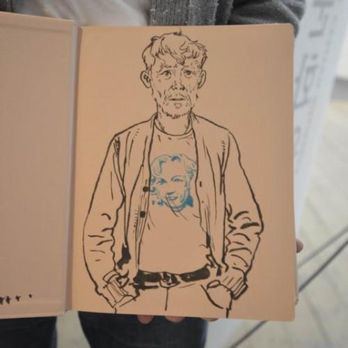 006 - Kim Jung Gi sketch dédicace