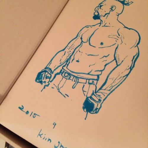 014 - Kim Jung Gi sketch dédicace