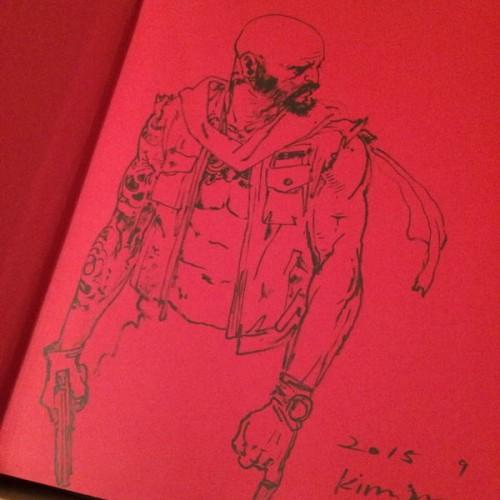 015 - Kim Jung Gi sketch dédicace