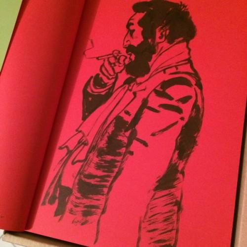 020 - Kim Jung Gi sketch dédicace
