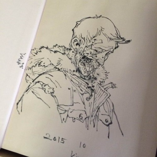 025 - Kim Jung Gi sketch dédicace