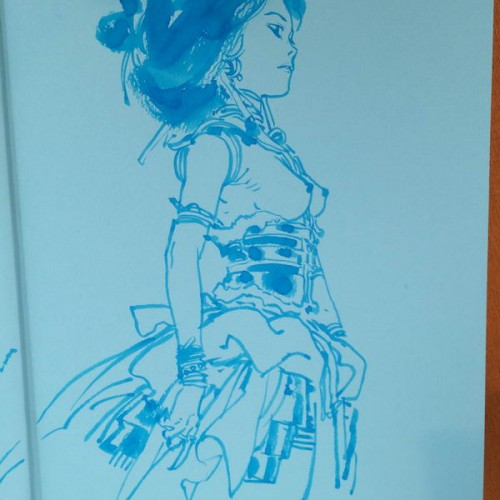 028 - Kim Jung Gi sketch dédicace