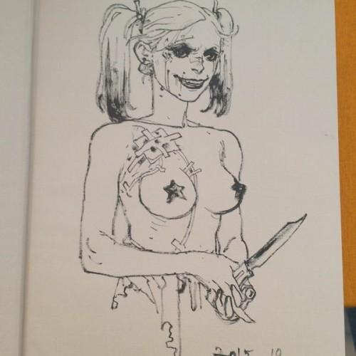029 - Kim Jung Gi sketch dédicace