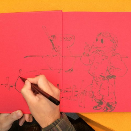 036 - Kim Jung Gi sketch dédicace