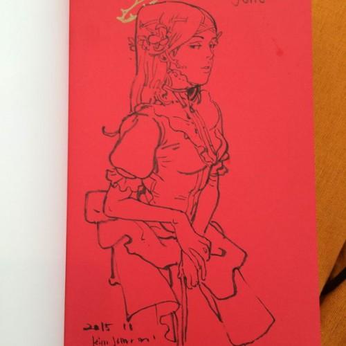 045 - Kim Jung Gi sketch dédicace