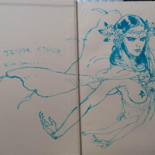 049 - Kim Jung Gi sketch dédicace