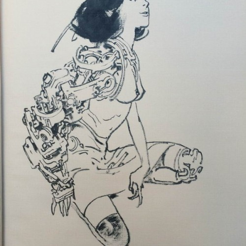 050 - Kim Jung Gi sketch dédicace