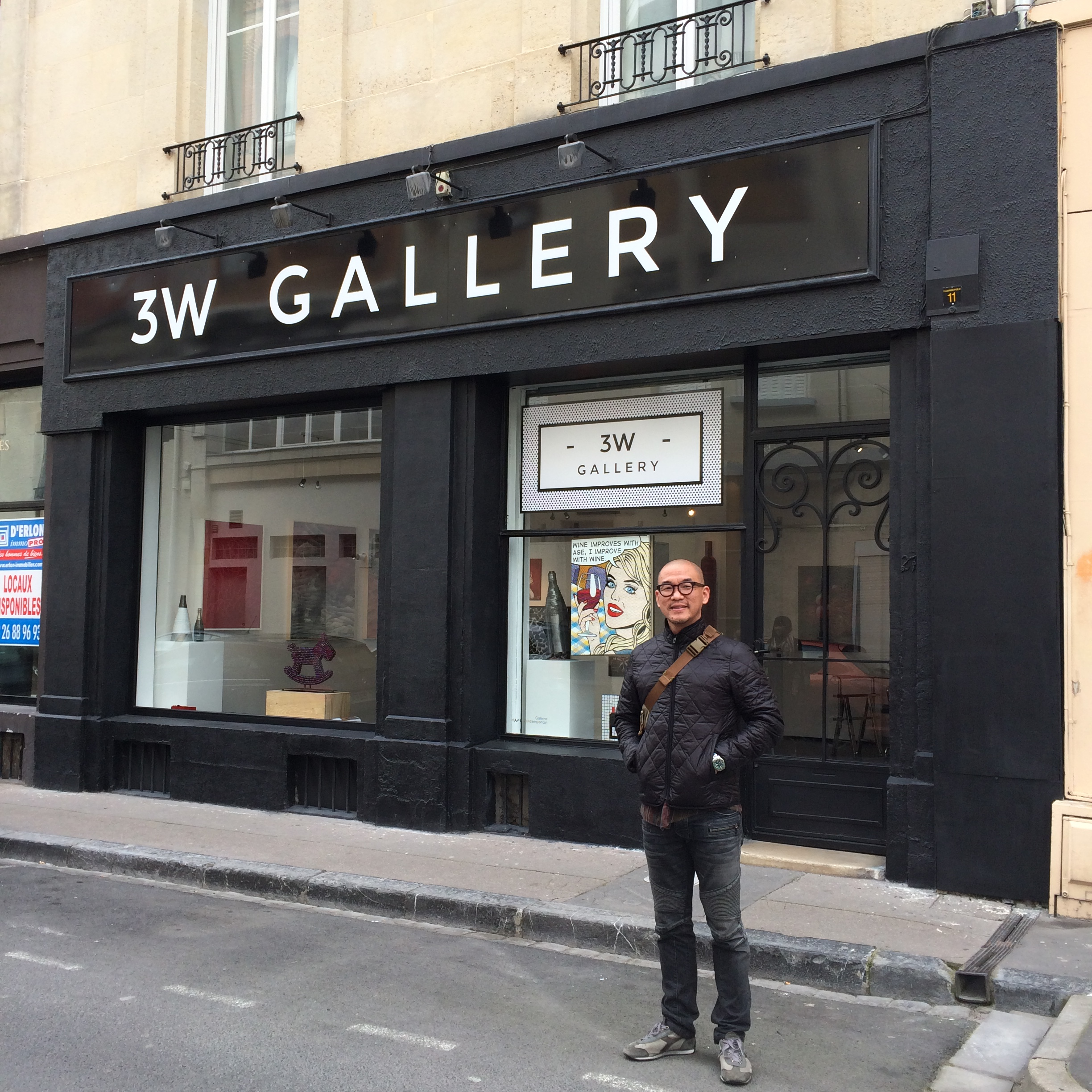 Drawing Show in Reims, France