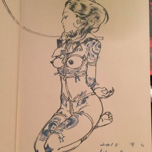 005 - Kim Jung Gi sketch dédicace