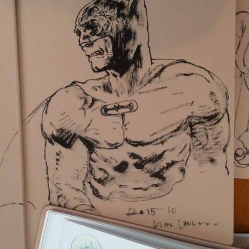 027 - Kim Jung Gi sketch dédicace
