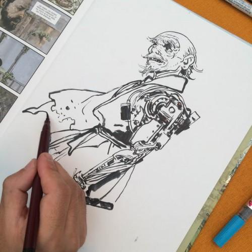 030 - Kim Jung Gi sketch dédicace