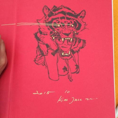 031 - Kim Jung Gi sketch dédicace