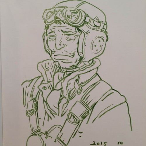 034 - Kim Jung Gi sketch dédicace
