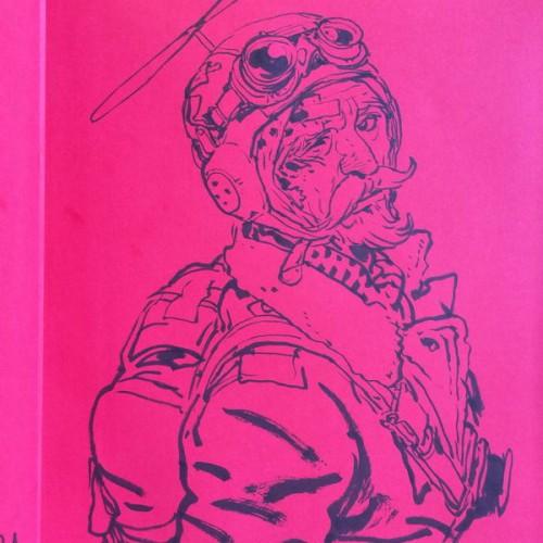 051 - Kim Jung Gi sketch dédicace