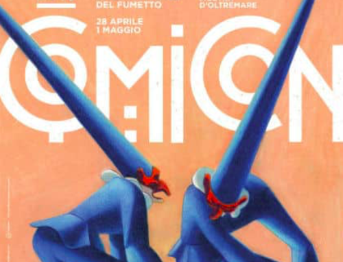 Napoli ComiCon 2018 – From Saturday 28 April until Tuesday 1st May